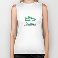sneakers Biker Tanks featuring Sneakers by CREAM