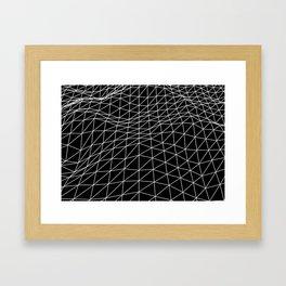 Terrain Framed Art Print