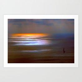 Sunset Glow Art Print