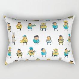 Wooferland: Wooferkers Pattern Rectangular Pillow