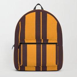 Retro Vintage Striped Pattern Backpack