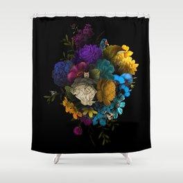 Foxy Florals Shower Curtain