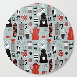 Coffee time Cutting Board