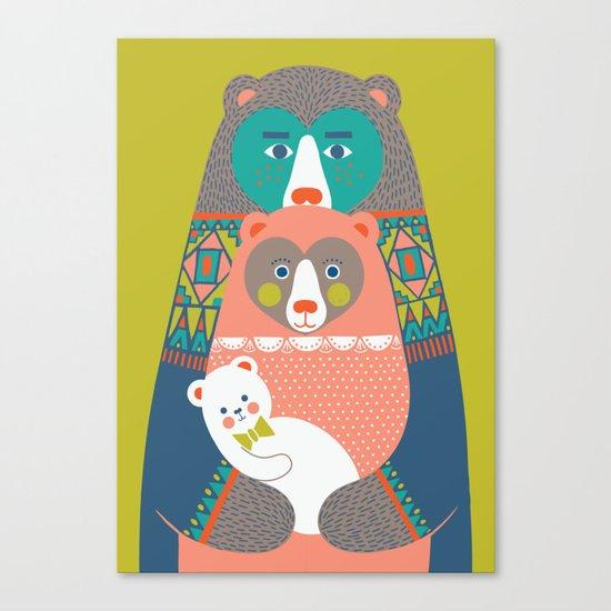 Baby Bear Canvas Print