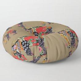 Ms. Ele Phant Floor Pillow