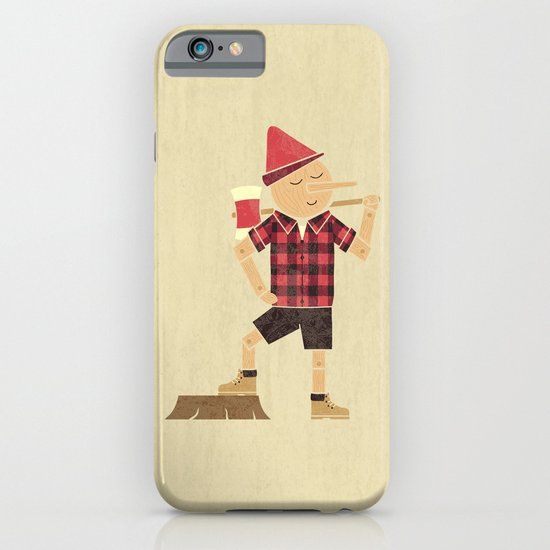 Wrong Guy For The Job iPhone & iPod Case