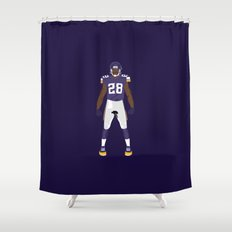 Purple People Eaters - Adrian Peterson Shower Curtain