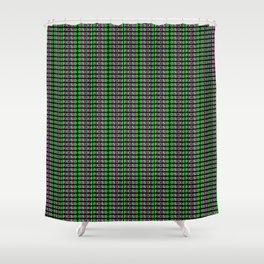 FOCUSED Pattern Shower Curtain