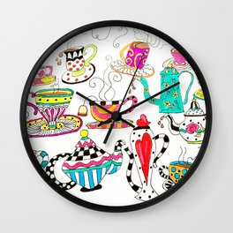 Coffee or Tea? Wall Clock