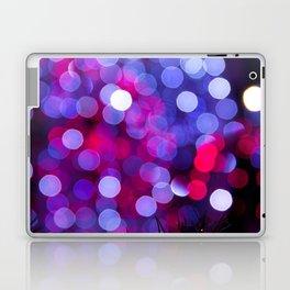 Pittsburgh Market Square Christmas Bokeh Laptop & iPad Skin