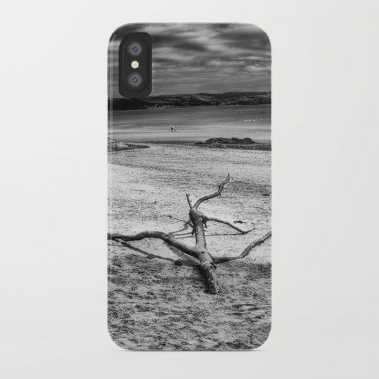 Driftwood 3 mono iPhone Case