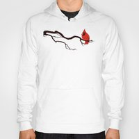 cardinal Hoodies featuring Cardinal by David Lanham
