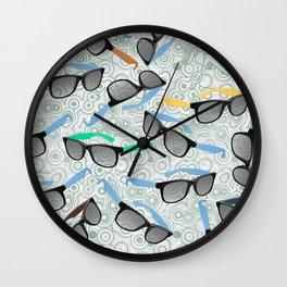 80's Shades Wall Clock