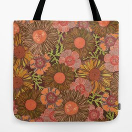 Day of the Daisies (Dark) Tote Bag