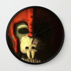 Skeleton soldier Wall Clock