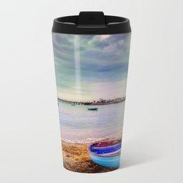 The calm before a storm. Travel Mug