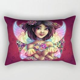 Naoko Fantasy Japanese Fairy Rectangular Pillow