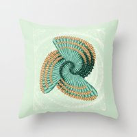 octopus Throw Pillows featuring Octopus  by DebS Digs Photo Art