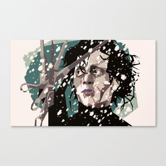 Handy man Canvas Print