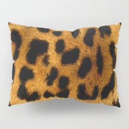 Faux Leopard Skin Pattern Pillow Sham