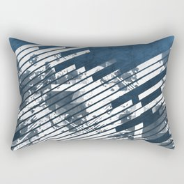 DENIM-WRAPPED NIGHTMARE Rectangular Pillow
