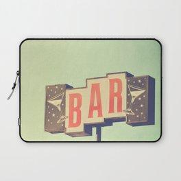 Bar sign photograph Laptop Sleeve