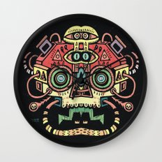 Lanceur de rêves - Alien tribe Wall Clock