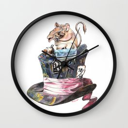 Doormouse Wall Clock