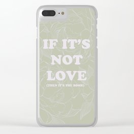best of (ask-the Smiths) Clear iPhone Case