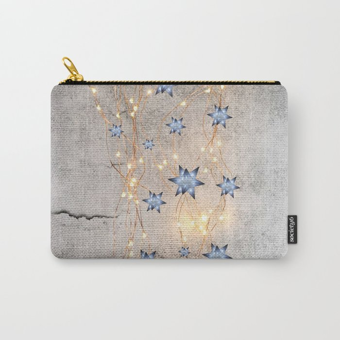 Star Wall | Christmas Spirit Carry-All Pouch