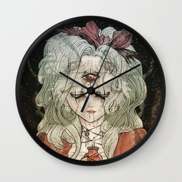 Third Eye Alice Wall Clock
