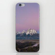 Pink Sunrise in Grand Teton iPhone & iPod Skin