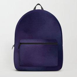 Deep Violet Tie Dye Backpack