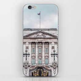 Whilst patchy drizzle dissipated, pink dust – and loud noise – bloomed. iPhone Skin