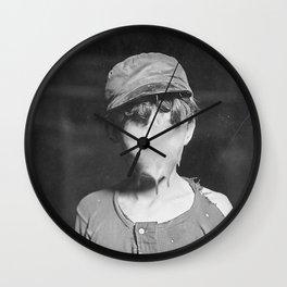 Lost Innocence Wall Clock