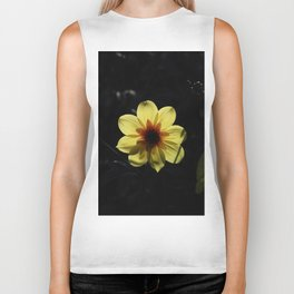 Yellow wind rose Biker Tank