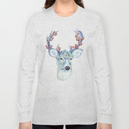 Christmas Deer - Forest animals series Long Sleeve T-shirt