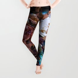 Mineral Specimen 7 Leggings