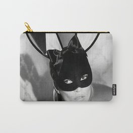 Kate Moss play-boy bunny, Home Décor, Vintage poster, Fashion, Model, Print, play-boy bunny, gift, photography, super model Carry-All Pouch