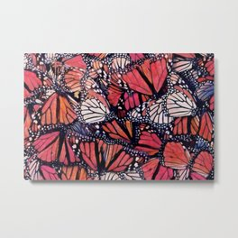 Monarch Butterflies II Metal Print
