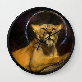 royal lion Wall Clock
