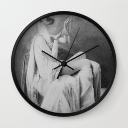 Moonlight becomes you Wall Clock