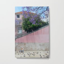 Paint me pink Metal Print