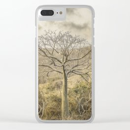 Ceiba Tree at Forest Guayas Ecuador Clear iPhone Case