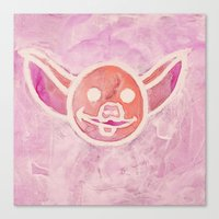 piglet Canvas Prints featuring Piglet by Ted Irvine