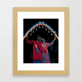 10 of Cups Framed Art Print