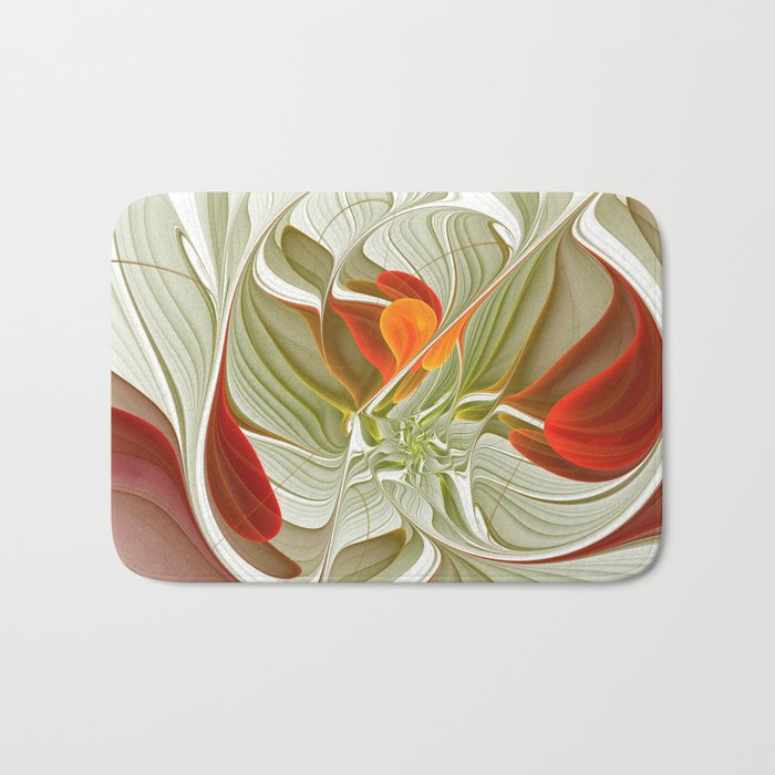 Fractal Art Bring Color Into Your Life Bath Mat