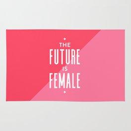 The Future is Female Rug