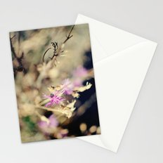 brush and bokeh Stationery Cards