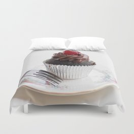 Cherry Cupcake Duvet Cover